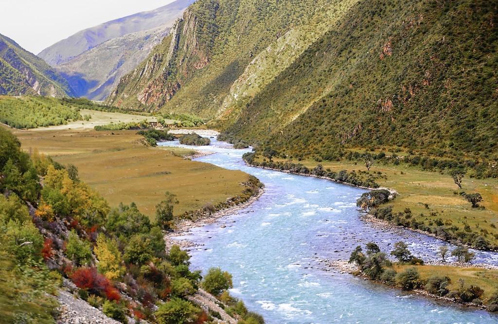 Grönskande gräsmarker i Tibet kan minska uppvärmningen. Foto: Reurinjkan/Flickr/Creative commons