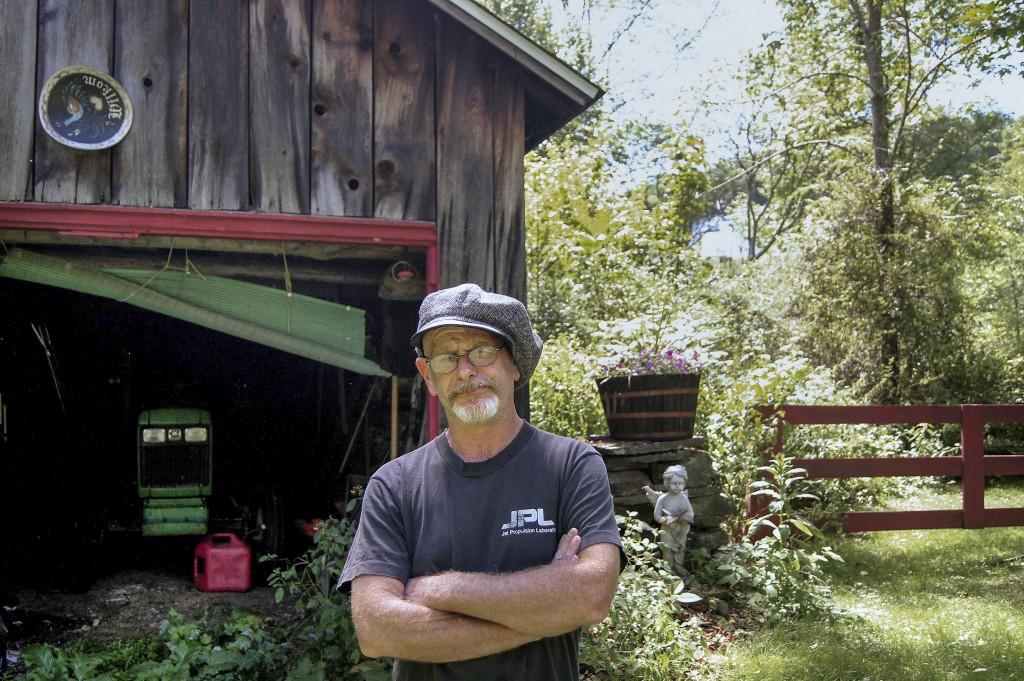 Seamus McGraw är kritisk till vad gasbolagen gör i Pennsylvania. Foto: Klas Lundström