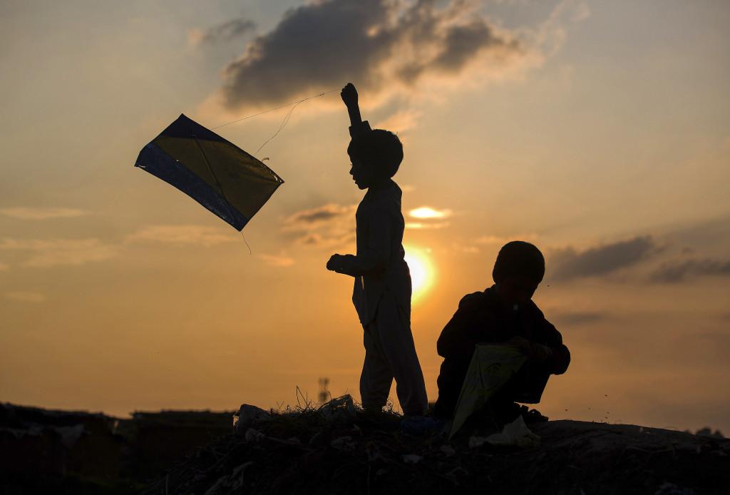 FN siktar högt med de nya hållbarhetsmålen. Foto:   P K Bangash/AP/TT