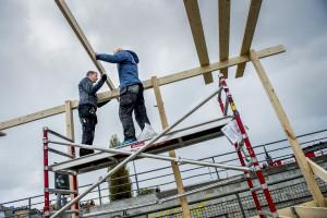 De bostäder som byggs i dag är alldeles för dyra för dem som nu behöver bostad, skriver Hans Linke.   Foto: Nora Lorek/TT