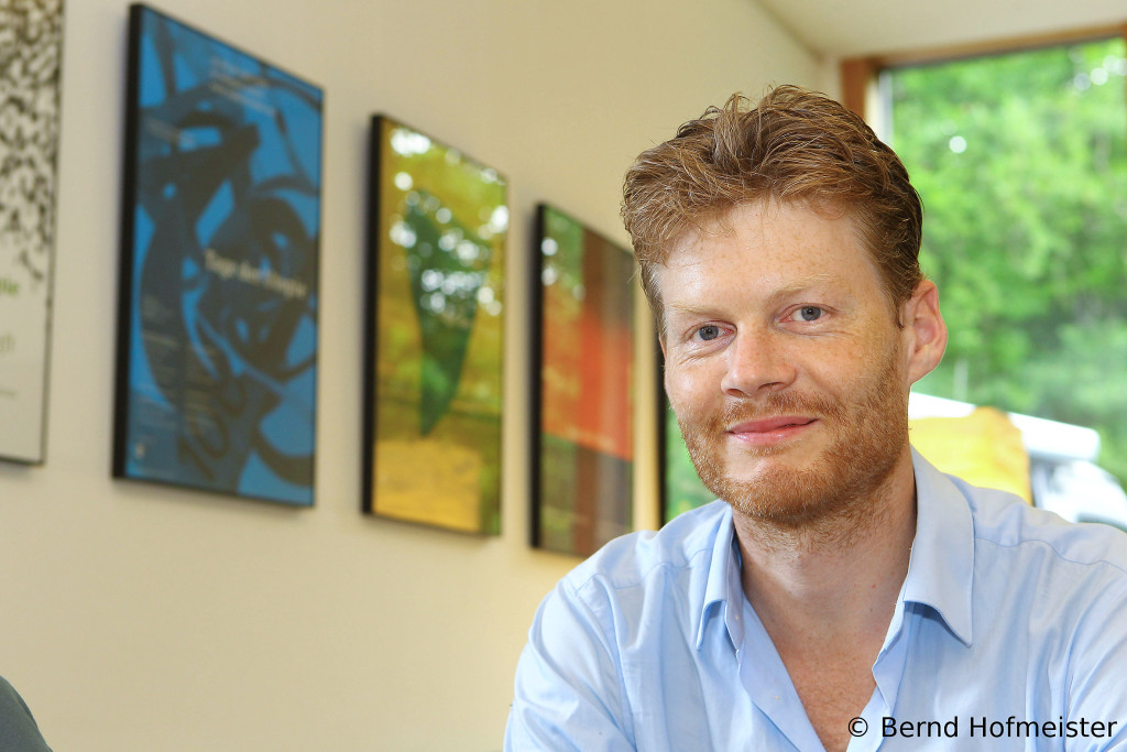 """Christian Felber har skrivit boken """"Change Everything"""" där han utvecklar sin ekonomiska modell. Foto: Bernd Hofmeister"""