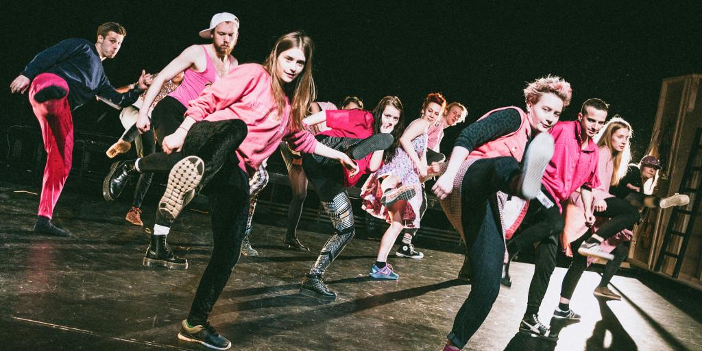 Teater Tribunalen har en unik utbildning för politisk scenkonst i Stockholm. Foto: Henrik Dahl