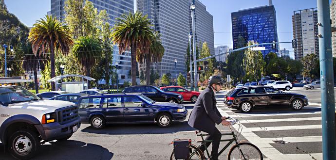 San Francisco har profilerat sig som en cykelstad, men att det blev så var långt ifrån en självklarhet. Foto: Linn Bergbrant
