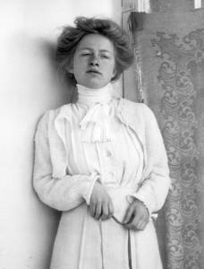 Edith Södergran. Foto: TT.