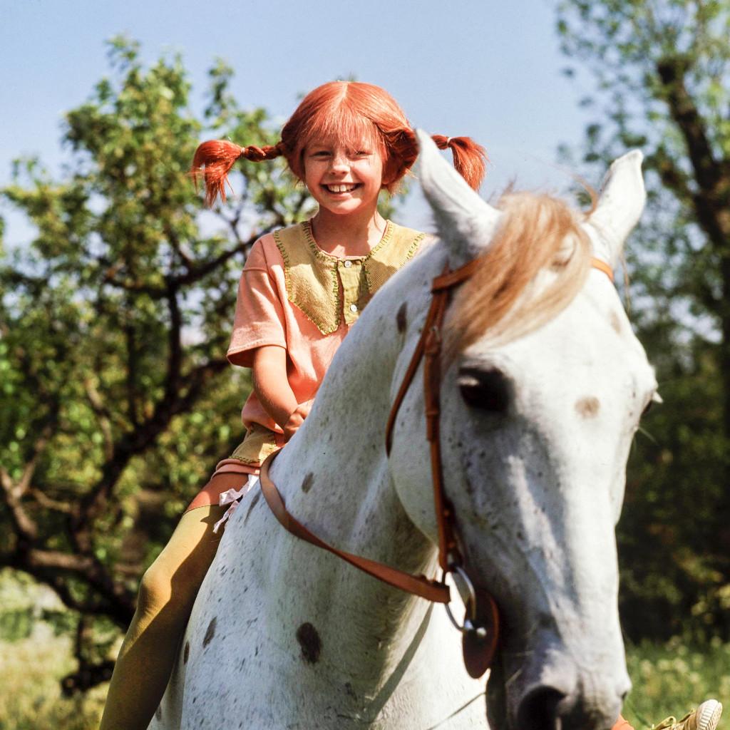 """Eftersom """"lilla"""" är en neutral form går det bra att kalla Pippis häst för Lilla gubben. Foto: Pressens bild/TT"""