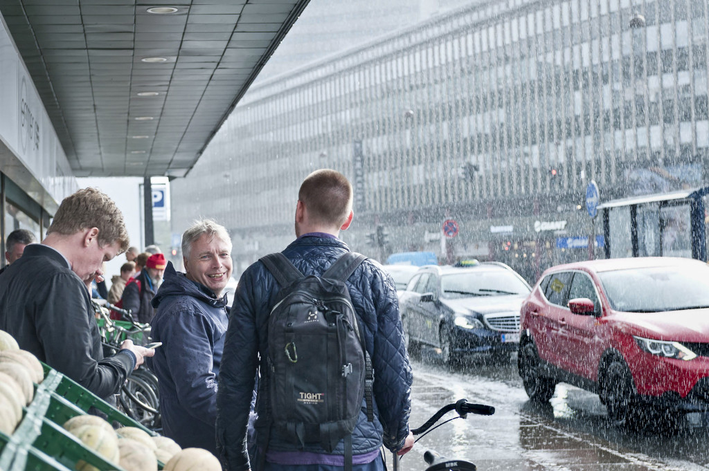 Uffe Elbæk har varit politiskt aktiv länge men berättar att han saknade visioner om vad man var för, vilken typ av samhälle man själva ville bygga. Foto: Ole Hein Pedersen.