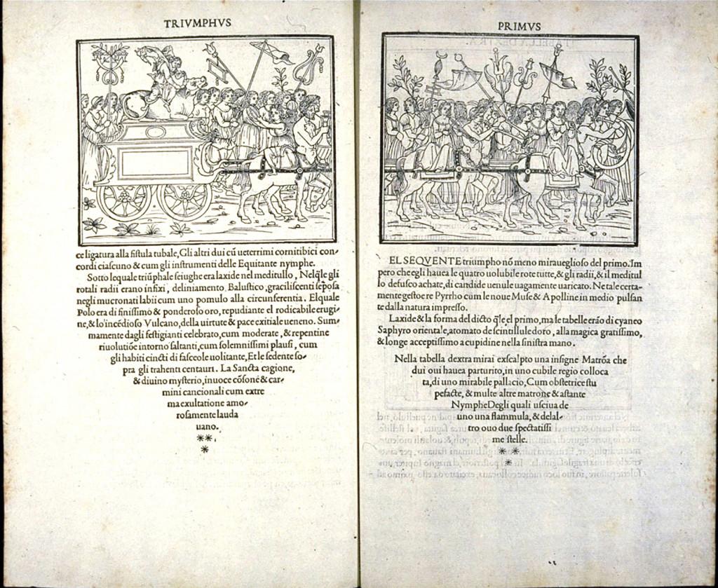 En av de böcker som Aldus Manutius gav ut: Hypnerotomachia Poliphili.