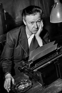 """Barbro Alving """"Bang"""" arbetade på DN 1934–1959. Bilden är från 1951. Foto: TT."""