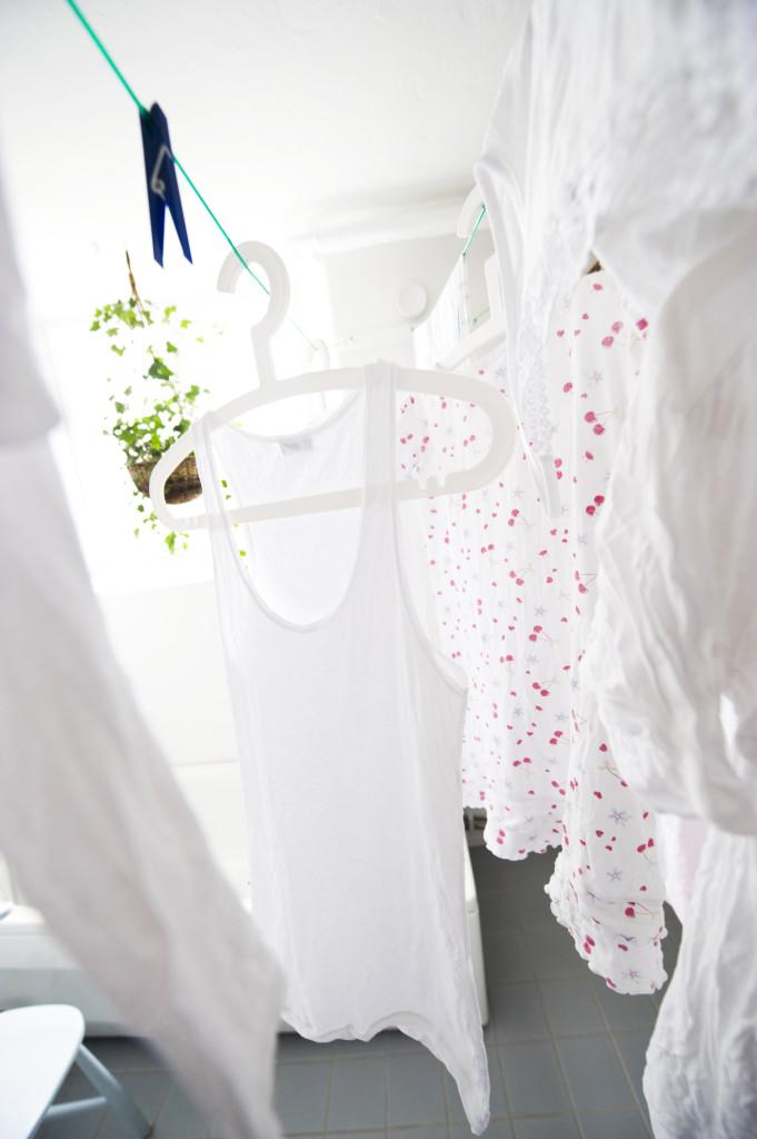 Rena kläder! Foto: Henrik Montgomery/TT.