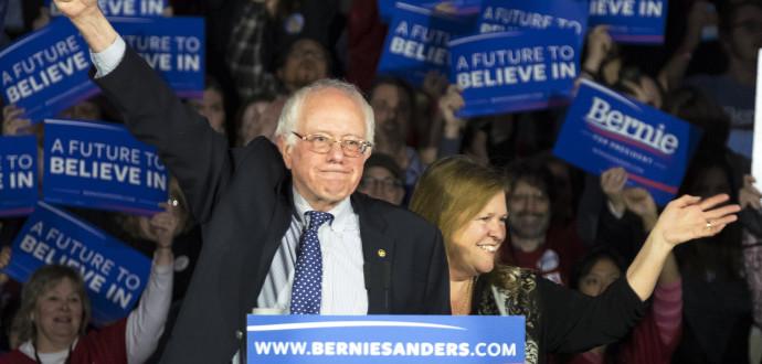 Bernie Sanders. Foto: Patrick Semansky/AP Photo/TT.