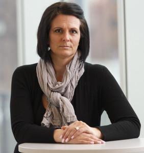 Frida Stranne, USA-expert och doktor i freds- och utvecklingsforskning. Foto: Anders Andersson /TT.