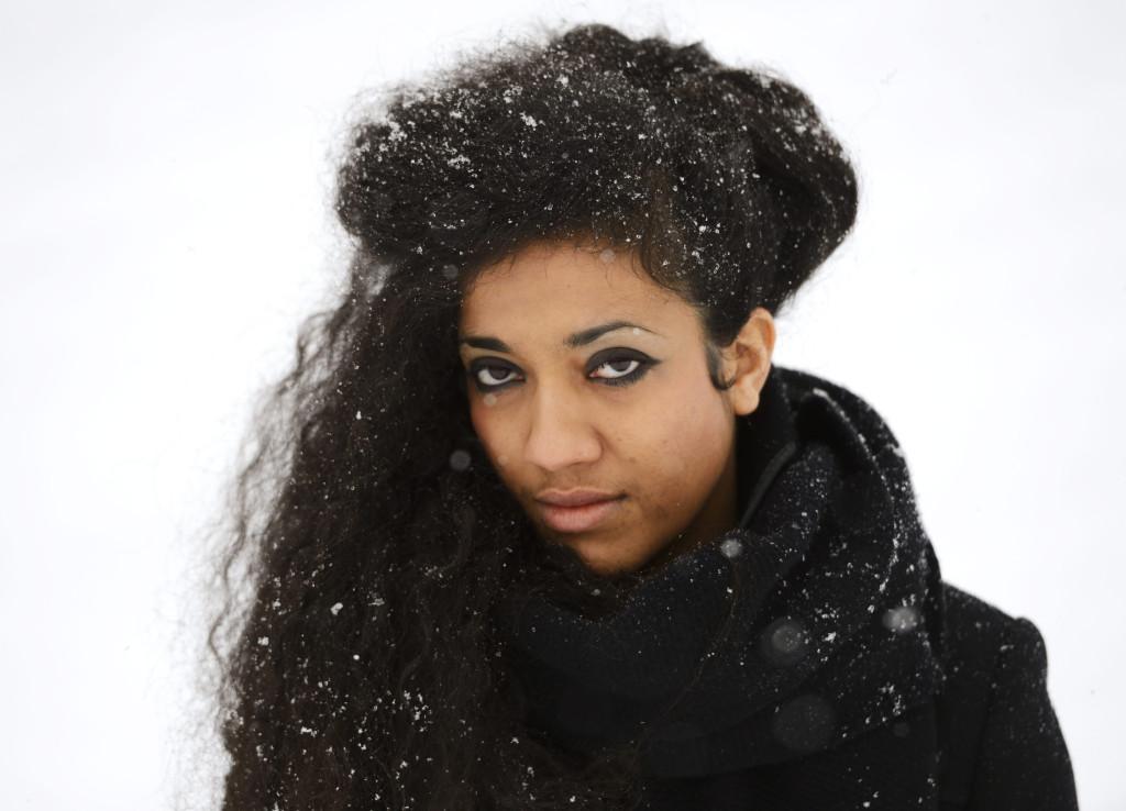 Författaren och poeten Athena Farrokhzad. Foto: Henrik Montgomery/TT.