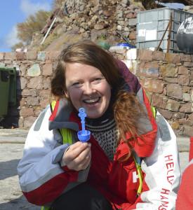 Volontären Marit åkte ner till Lesbos för att hon ville göra något konkret för att hjälpa människor på flykt.