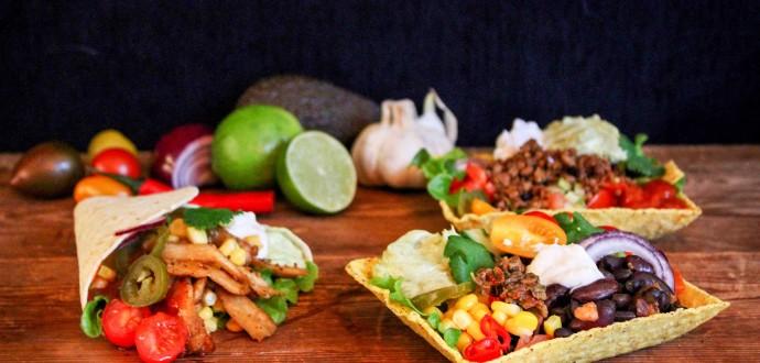 Tacos – perfekta på en fredag! Foto: Jenny Luks.