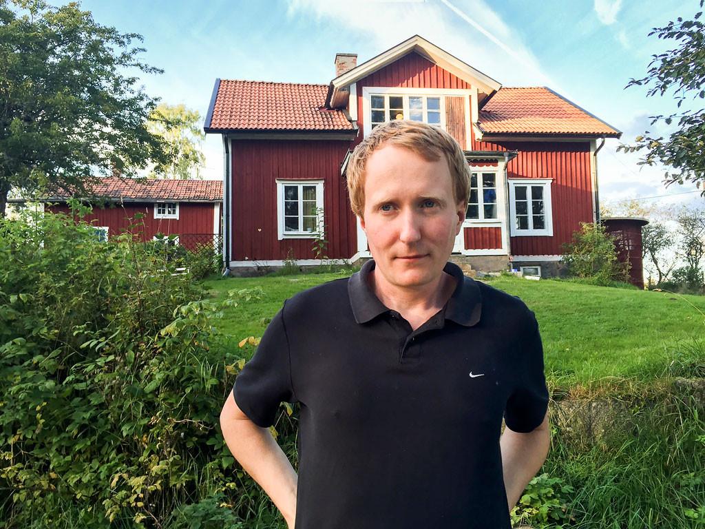 Det finns flera andra metoder för att gödsla marken utan djur, som kompostering, gröngödsling och rötningsrester, säger Gustaf Söderfeldt. Foto: Privat.