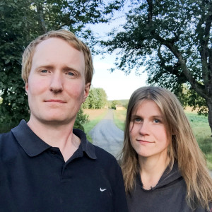 Gustaf Söderfeldt och Caroline Walberg. Foto: privat.