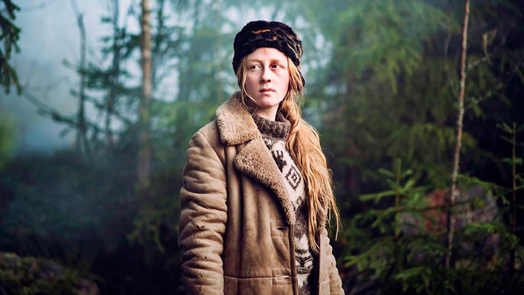 Blanca Engström spelar flickan Eini i Hanna Skölds senaste film.