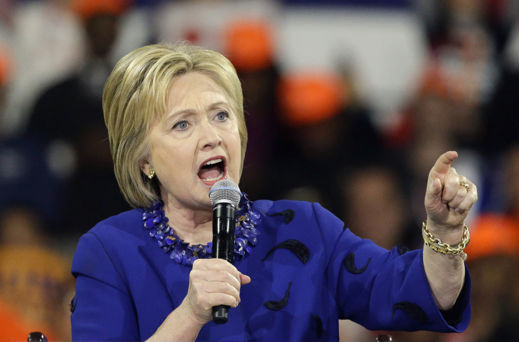 Hillary Clinton. Foto: AP Photo/Frank Franklin II, File/TT.