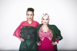 Bianca Kronlöf och Tiffany Kronlöf är tillbaka. Foto: Saga Berlin/SVT.